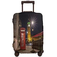 London Red Phone Box Big Ben Street Scene Night ... - Amazon.com