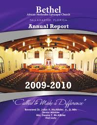 bethel ame annual report by macork solutions issuu