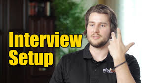 how to light and setup a video interview how to light and setup a video interview