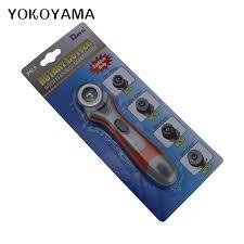 YOKOYAMA 28mm Cloth Rotary Cutter <b>DIY Sewing Tool Patchwork</b> ...