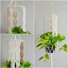 Одноклассники | <b>Макраме</b> вешалки для растений, Висячие ...