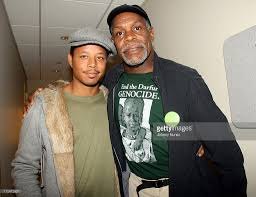 essence music festival s essence cares psa taping  terrence howard and danny glover during essence music festival s essence cares psa taping 10