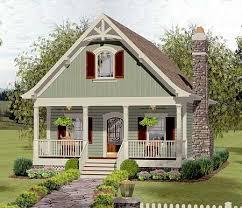 Bedroom loft  Cottage house and Cottage house plans on PinterestCozy Cottage House Plan GA   bedroom loft