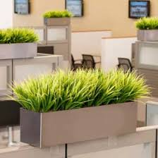 officescapesdirect grass cubicle silk plant artificial plants for office decor