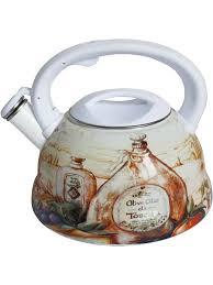 <b>Чайник эмалированный</b> RSWK- 7540-30 3,0 л / со <b>свистком</b>/ курк ...