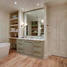 washstand bathroom pine: oval freestanding tub in front of french doors