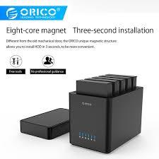 "<b>ORICO</b> 3.5"" USB3.0 5-Bay 50TB SATA <b>Hard Drive Case HDD</b> ..."
