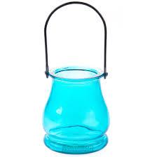 <b>Подсвечник</b> Голубое стекло, 9,<b>5х8см</b> | www.gt-a.ru