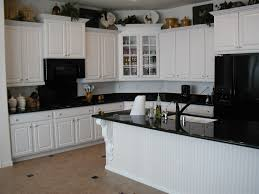 wood kitchen cabinets traditional black