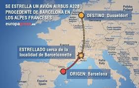 Resultado de imagen de IMAGENES ACCIDENTE AÉREO DE LOS ALPES FRANCESES