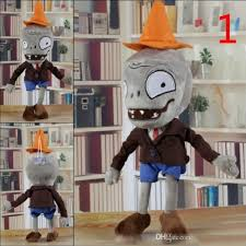 10 Style <b>30CM</b> 12'' Plants Vs Zombies <b>Soft Plush Toy Doll</b> Game ...