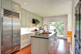 white shaker ikea kitchen trendy galley eat in kitchen photo in philadelphia with shaker cabinets stainless chairs ikea ikea white