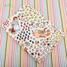 Chainho, серия <b>Cat Lady</b>, хлопковая и льняная ткань для шитья ...