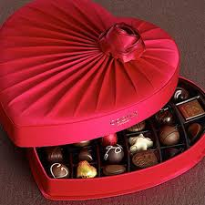 Image result for box of valentine chocolates
