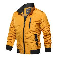 <b>Men's Autumn Winter</b> Casual Outwear Pure Color Zipper <b>Breathable</b> ...