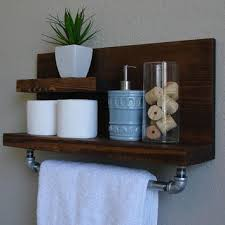 size bathroom wicker storage: floating shelves bathroom diy tall wooden shelf green stained wall chrome wall lamp wicker loundry basket