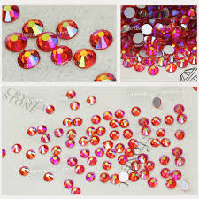 Online Shop Orange <b>AB</b> all sizes <b>SS3</b>-<b>SS30</b> Nail Decoration ...