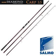 удилище карповое телескопическое swd diamond carp 3 6 м 3 5 lbs