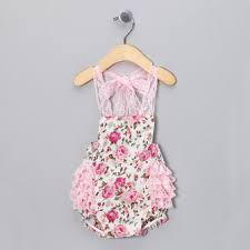 <b>baby kids</b> girls <b>romper toddlers</b> short lace flower sets sunsuit outfit at ...