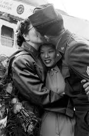 best images about korean war united states army america s first korean war bride blue lands in seattle in 1951