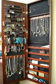 <b>Jewelry wall</b> mounted organizer | Decor and More! | <b>Jewellery</b> ...