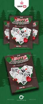 christmas flyer templates by grafilker graphicriver christmas flyer templates events flyers