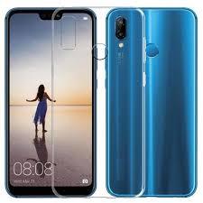 <b>Чехол для смартфона Huawei</b> P20 Lite Silicone (прозрачный ...