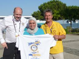how to help end polio now global swimarathon rotaract in great paul wilson rana ghoraba and 2012 13 rc grantham president irvin metcalf