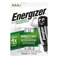 Купить <b>Аккумулятор</b> Energizer Power Plus <b>AAA</b> 700mAh 2шт. в ...