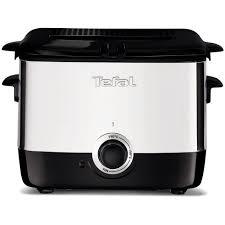 Купить <b>Фритюрница TEFAL</b> FF220015, серебристый/черный в ...