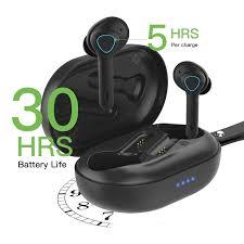 <b>TS08 Wireless Earbuds</b> 53 in Ear Wireless Headphones TWS Bass ...