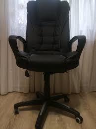 Обзор от покупателя на <b>Кресло Tetchair BARON кож/зам</b>, черный ...
