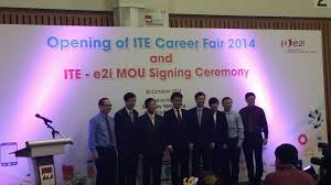 th ite career fair and signing of memorandum of understanding the collaboration would serve as a platform for students to seek advice and guidance from trained career advisors the event held at the indoor sports hall