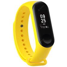 <b>Silicone</b> Smart Glossy Wristband for <b>Xiaomi</b> Miband 3 | Gearbest