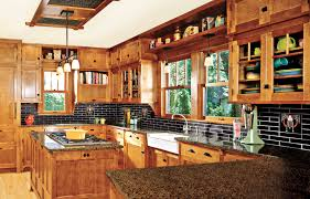 Prairie Style Kitchen Cabinets Create A Craftsman Style Kitchen This Old House