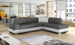 Modern <b>corner sofa bed</b> with cushions - Barbados - Don Baraton