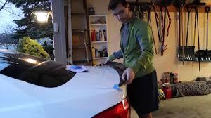 Carbon Fiber Spoiler Installation On My BMW 335i - YouTube