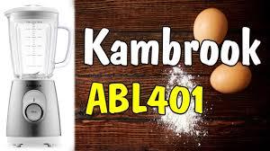 <b>Блендер Kambrook ABL401</b> РАСПАКОВКА ОБЗОР ОТЗЫВ И ...
