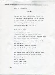 screen print the alternative history of edith farnsworth and edith b farnsworth artifact unpublished poem courtesy and copyright of