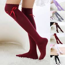<b>Hot Sale Women</b> Girls Thigh High <b>Cotton</b> Leggings Stockings Warm ...