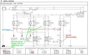 wiring diagram for electric radiator fan the wiring diagram taurus sho 2 speed 4500cfm electric radiator fan rx7club wiring diagram