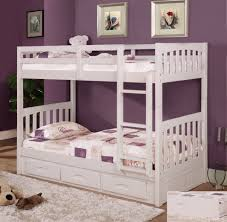 white bunk beds with stairs amazing twin bunk bed