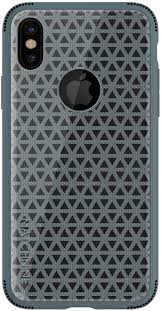 <b>Чехол MATCHNINE</b> iPhone X <b>SKEL</b> Peacock Blue Case синий