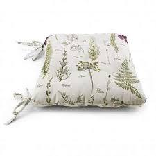 <b>Подушка</b> на стул <b>Botany</b> купить в интернет-магазине DomaMio