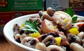 Portuguese Meals Anyone Can Make: <b>Octopus</b> Salad with Black ...