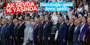 AK Parti'de 16 yıl kutlaması