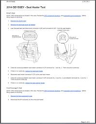 seat heater problem attachment 34138attachment 34146attachment 34154attachment 34162 2014 odyssey