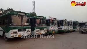 rtc employees protest in nalgonda district over shift duties rtc employees protest in nalgonda district over shift duties