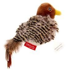 Купить <b>Игрушка</b> для кошек <b>GiGwi Melody Chaser</b> Птичка со ...