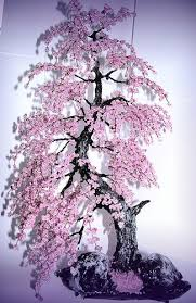<b>Bonsai</b> Beaded Tree <b>Home Decor</b> - Sakura | Cherry blossom <b>bonsai</b> ...